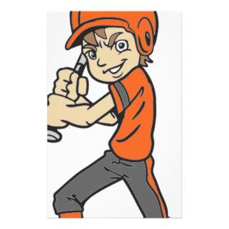BASEBALL / SOFTBALL BOY BATTING STATIONERY
