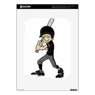 BASEBALL / SOFTBALL BOY iPad 3 DECALS