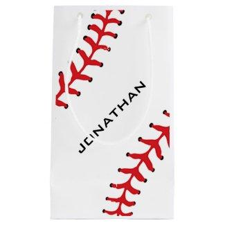 Baseball Softball Design Gift Bag