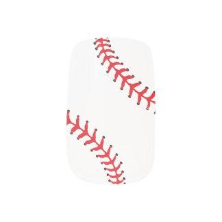 Baseball Softball Design Nails Minx Nail Art