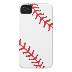 Baseball/softball Iphone 4/4s Case at Zazzle