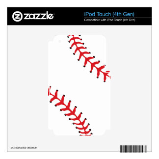 Baseball/Softball iPod Touch (4th Gen) Skin iPod Touch 4G Decal