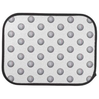 Baseball / Softball Pattern Car Floor Mat