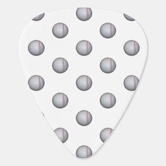 Baseball / Softball Pattern Guitar Pick