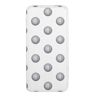 Baseball / Softball Pattern iPhone SE/5/5s/5c Pouch