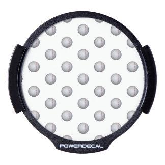 Baseball / Softball Pattern LED Window Decal