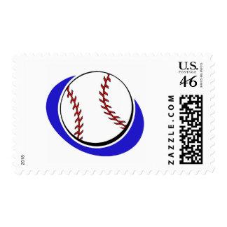 baseball softball postage