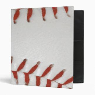 Baseball Softball Print Pattern Background Binder
