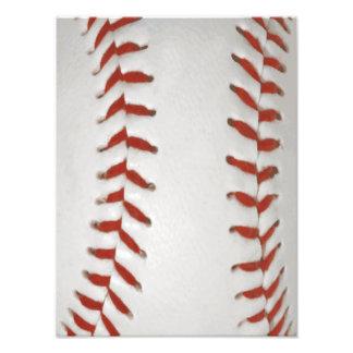 Baseball Softball Print Pattern Background Photo Print