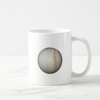 Baseball / Softball w/Orange Stitching Classic White Coffee Mug