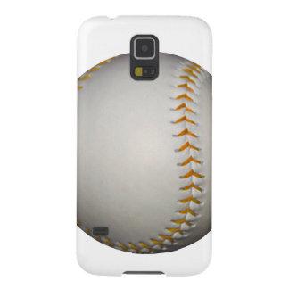 Baseball / Softball w/Orange Stitching Galaxy S5 Covers