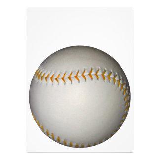 Baseball / Softball w/Orange Stitching Invitations