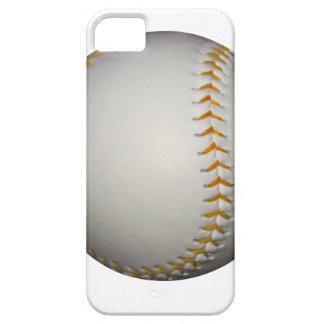 Baseball / Softball w/Orange Stitching iPhone 5 Cover