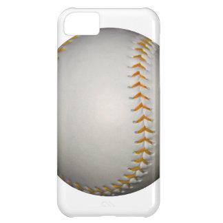 Baseball / Softball w/Orange Stitching iPhone 5C Cases