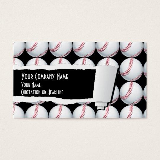 Baseball Sport Business Card