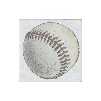 Baseball Sport Drawing Sketch Stone Magnet