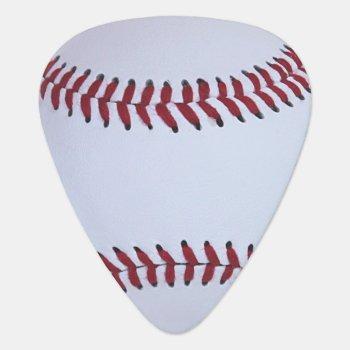 Baseball Sport Guitar Pick by lsarmentoart at Zazzle