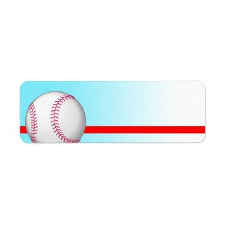 Baseball Sport Label