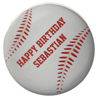 Baseball Sport Themed Personalized Chocolate Covered Oreo