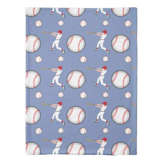 Baseball Sport Twin Size Duvet Cover