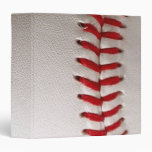 Baseball Sports 3 Ring Binder