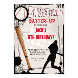 Baseball Party Invitations Announcements Zazzle