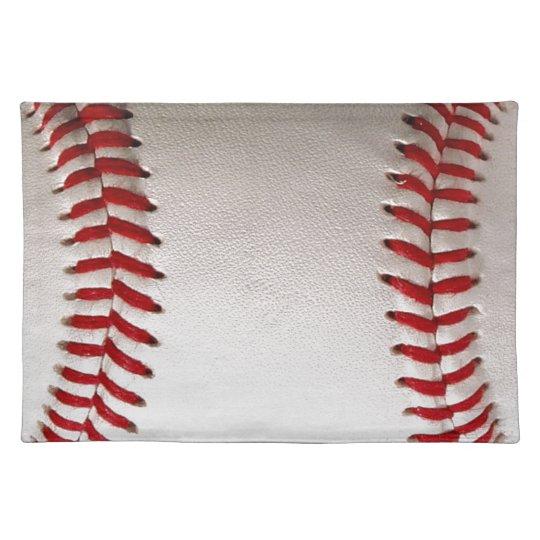 Baseball Sports Cloth Placemat