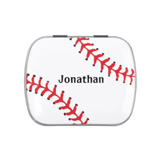 Baseball Sports Design Party Favor Candy Container Candy Tin