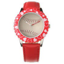 baseball sports design wristwatches