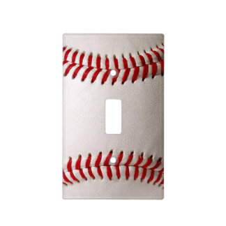 Baseball Sports Light Switch Cover