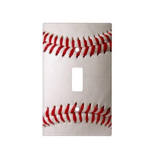 Baseball Sports Light Switch Cover Zazzle