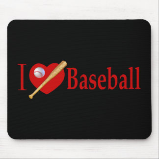 Baseball Sports Lover Gifts Mouse Pad
