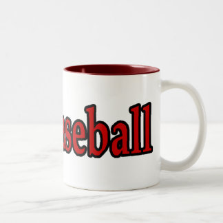 Baseball Sports Lover Gifts Two-Tone Coffee Mug