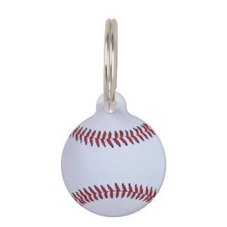 Baseball Sports Pet Tag