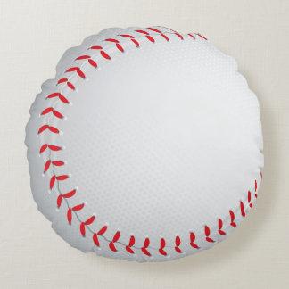 Baseball Sports Round Pillow