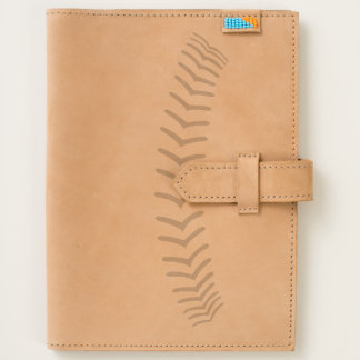 Baseball Sports Team Game Stitches Leather Journal