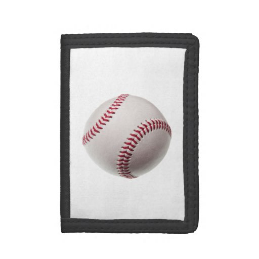 Baseball - Sports Template Baseballs Background Trifold Wallet