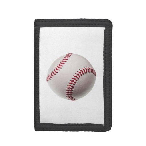 Baseball - Sports Template Baseballs Background Trifold Wallets
