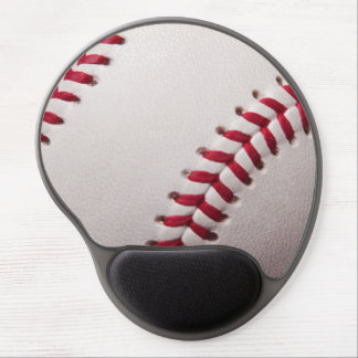 Baseball Sports Template Personalized Baseballs Gel Mouse Pad