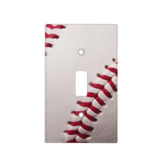 Baseball Sports Template Personalized Baseballs Light Switch Cover