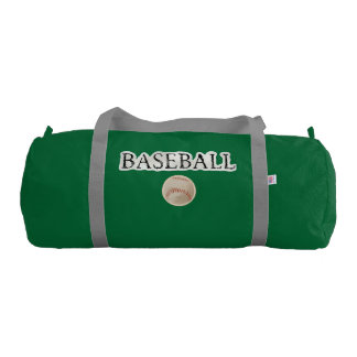 Baseball Sports Theme Gym Bag