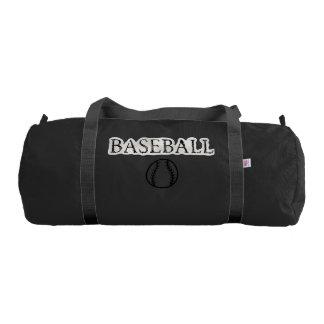 Baseball Sports Theme Gym Bag