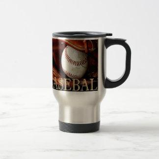 BaseBall Sports Travel Mug