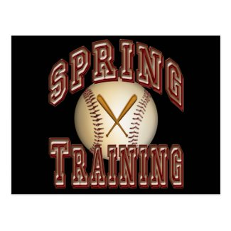 Baseball Spring Training Postcard