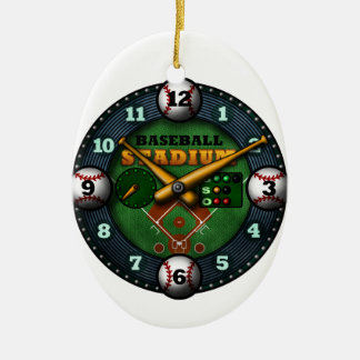 Baseball Stadium2 Ceramic Ornament