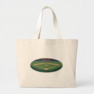 Baseball Stadium: 3D Model: Canvas Bags