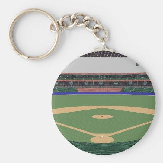 Baseball Stadium: 3D Model: Keychain