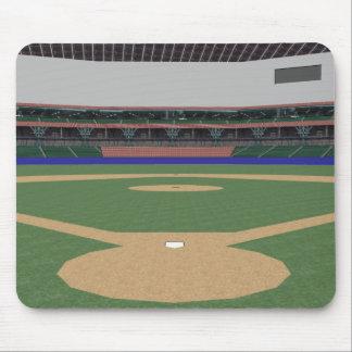 Baseball Stadium: 3D Model: Mouse Pad