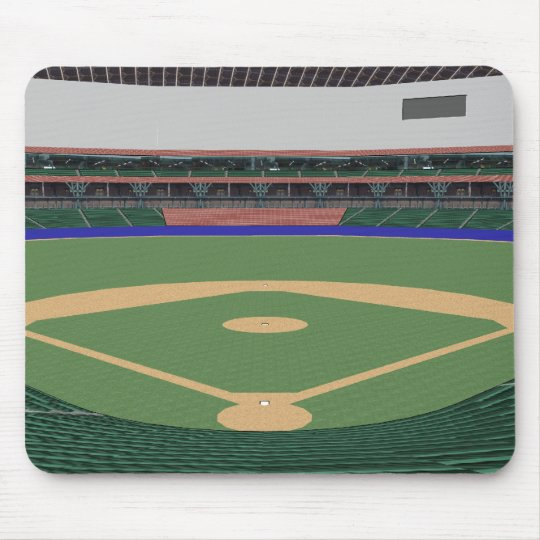 Baseball Stadium: 3D Model: Mouse Pad