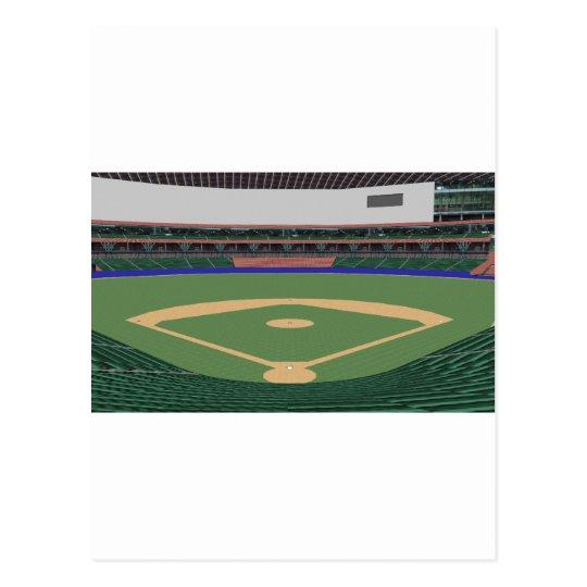 Baseball Stadium: 3D Model: Postcard